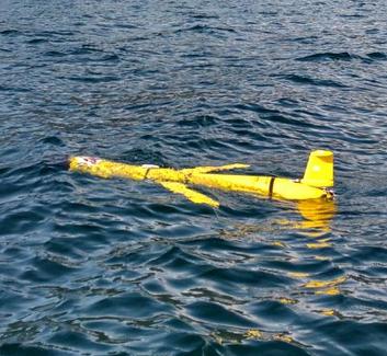Glider deployment Summer 2019 Daniel's Harbour